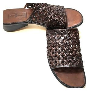 Cole Haan Women's Brown Leather Sandal